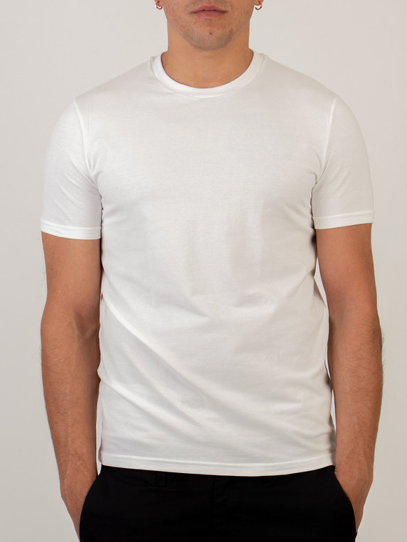 Dsquared2 DCXZ00030 Round Neck T-Shirt White