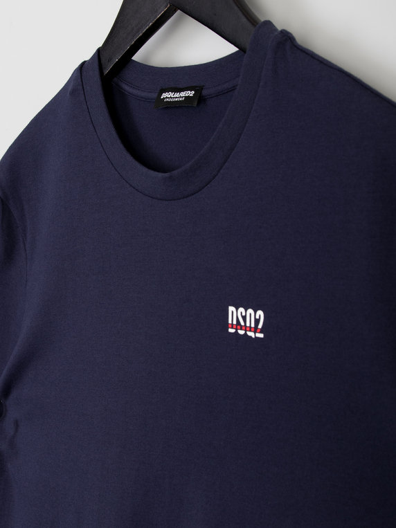 Dsquared2 Small Logo T-Shirt Navy