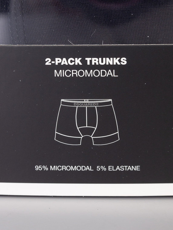 Dsquared2 Trunk Twin Pack Black