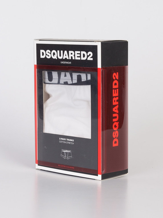 Dsquared2 Trunk Twin Pack White