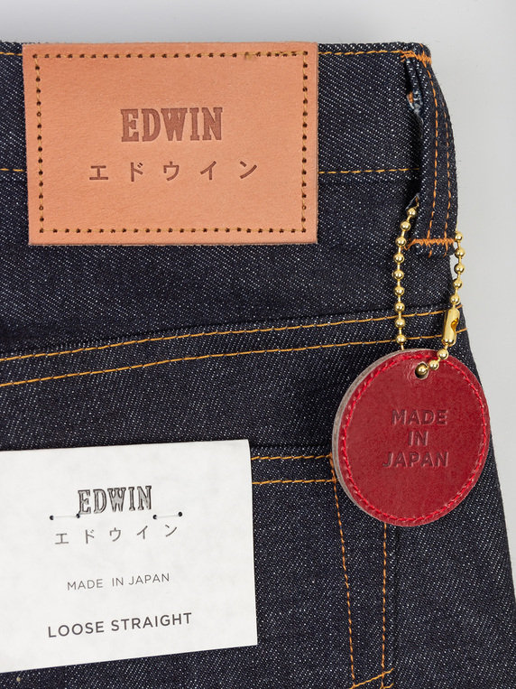 Edwin Loose Straight Raw Selvege Denim