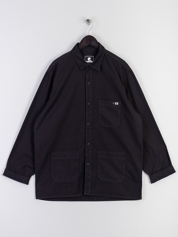 Edwin Major Overshirt Black