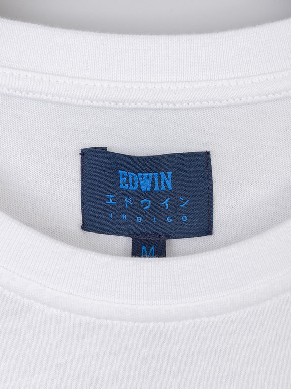 Edwin Power To The Peaceful T-Shirt White