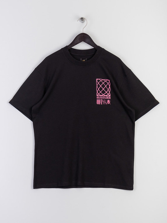 Edwin Shinjuku Savage T-Shirt Black