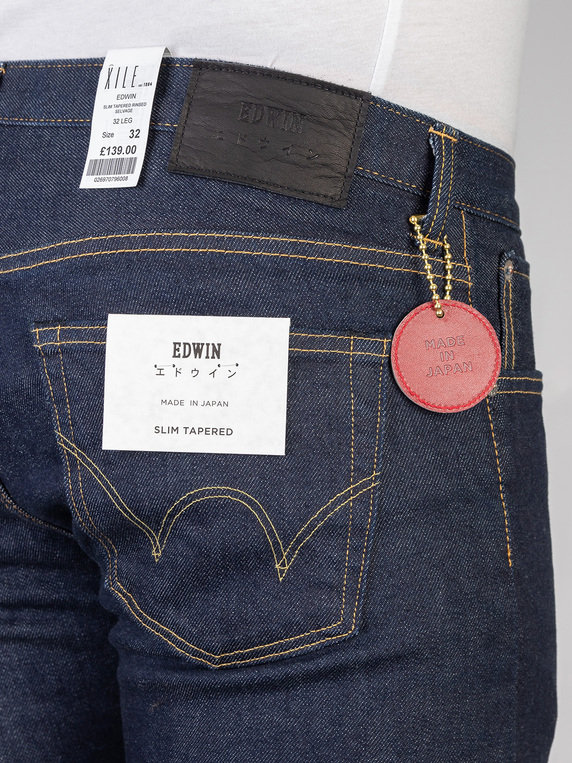 Edwin Slim Tapered Rinsed Selvage