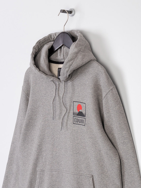 Edwin Sunset On Mount Fuji Hoody Grey