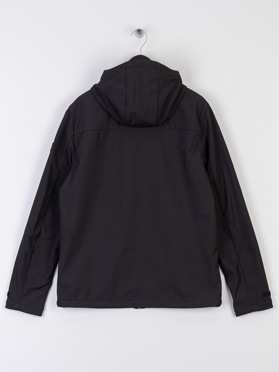 Farah Bective Soft Shell Jacket Black