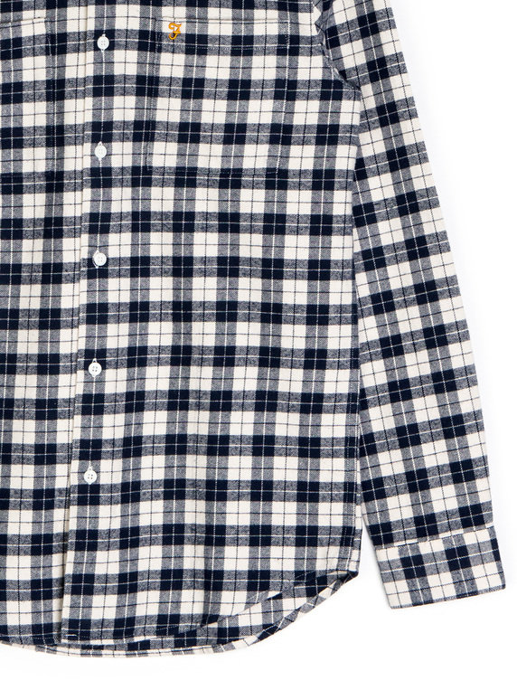 Farah Coleville LS Shirt Checked Navy