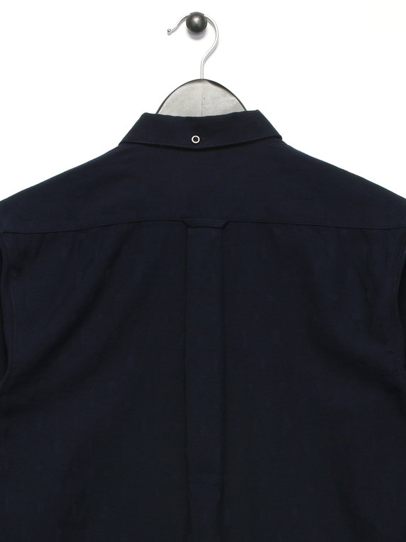 Farah Stockton Long Sleeve Shirt Navy