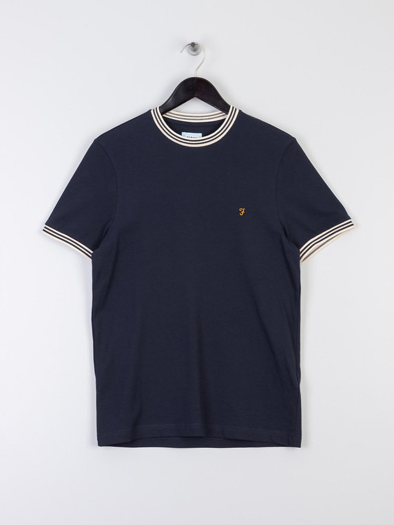 Farah Texas T-Shirt Navy