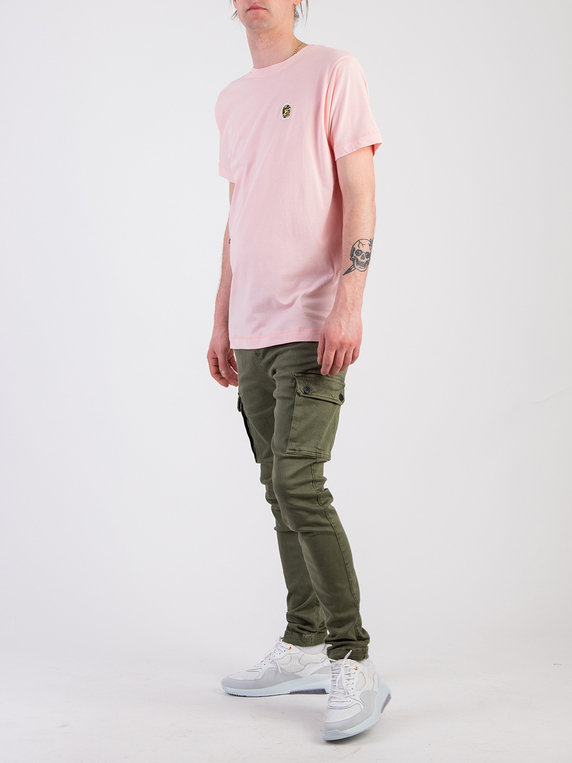 Forty Ben Camo T-Shirt Pink