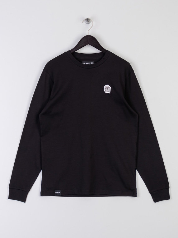 Forty Quinn Long Sleeve T-Shirt Black