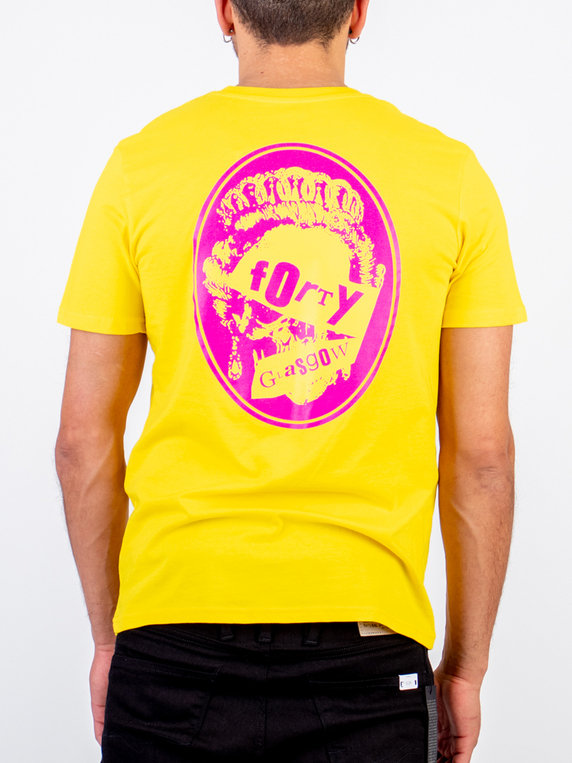 Forty Vicious T-Shirt Yellow