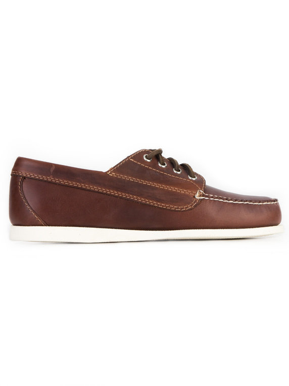G.H. Bass & Co. Camp Moc Jackman Pull Up Brown