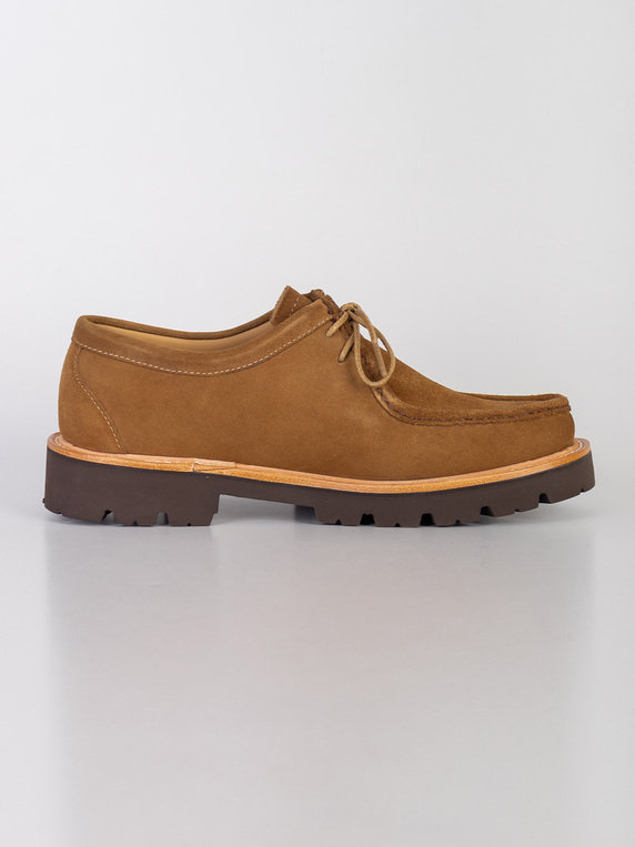 G.H. Bass & Co. Ranger Moc Wallace Suede Brown