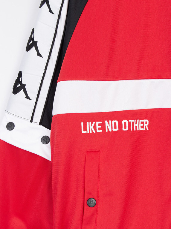 Kappa Bafer Authentic Track Jacket Red