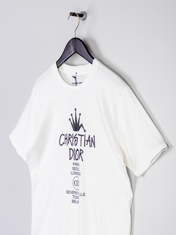 Kustom London CD Tee White