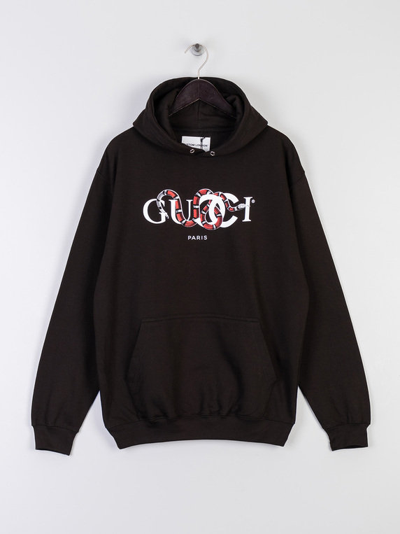 Kustom London GC Snake Hoodie Black