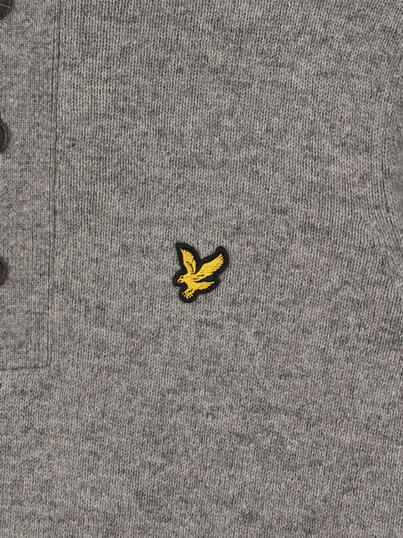 Lyle & Scott 1/4 Zip Jumper Grey