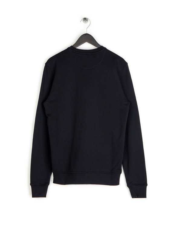 Lyle & Scott Crew Neck Sweat Black
