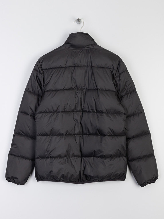 Lyle & Scott Funnel Neck Puffa Jacket Black