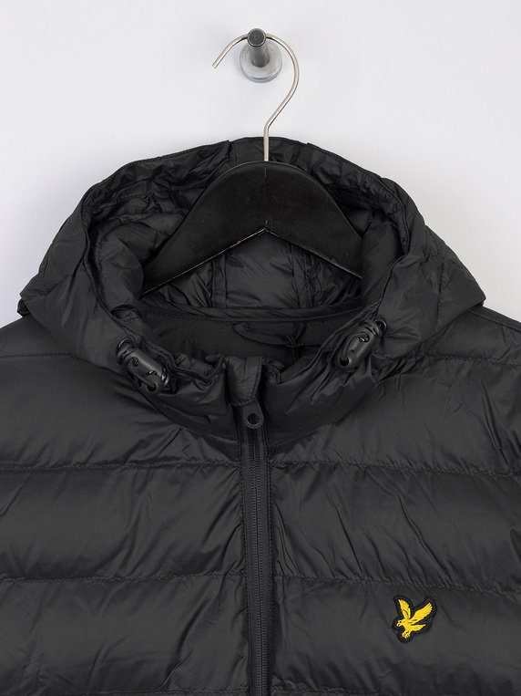 Lyle & Scott Lightweight Puffer Jacket Black