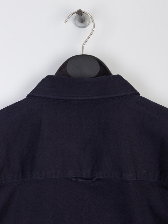 Lyle & Scott Twill Overshirt Z271 Dark Navy