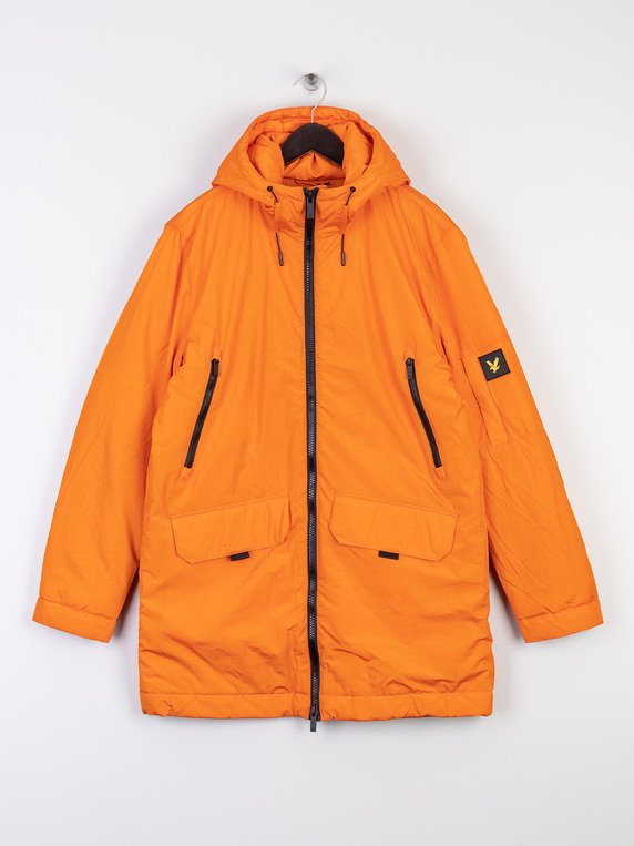 Lyle & Scott Zip Detail Parka W118 Orange