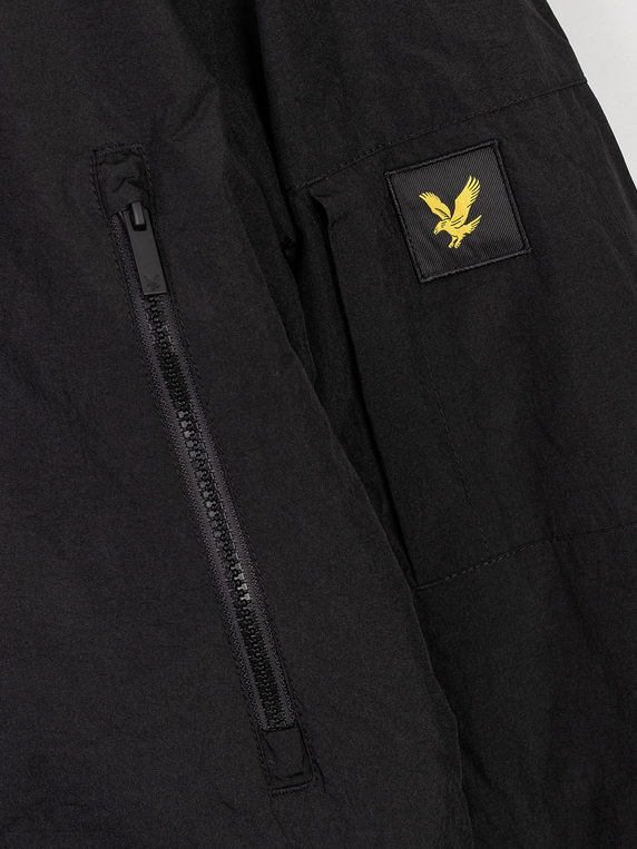 Lyle & Scott Zip Detail Parka Z865 Jet Black