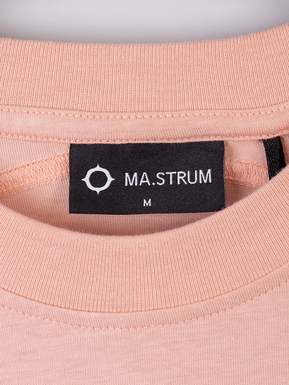 MA.Strum Short Sleeve Icon T-Shirt Flesh