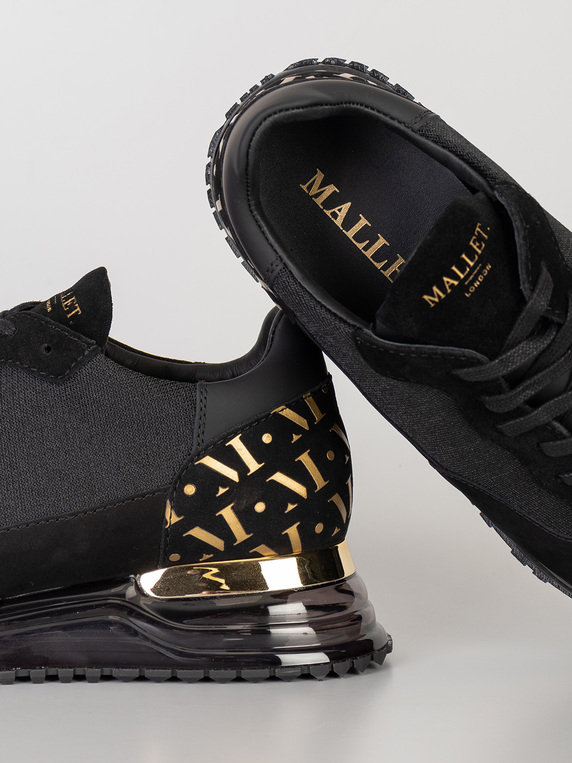 Mallet Popham Gas Gold Black
