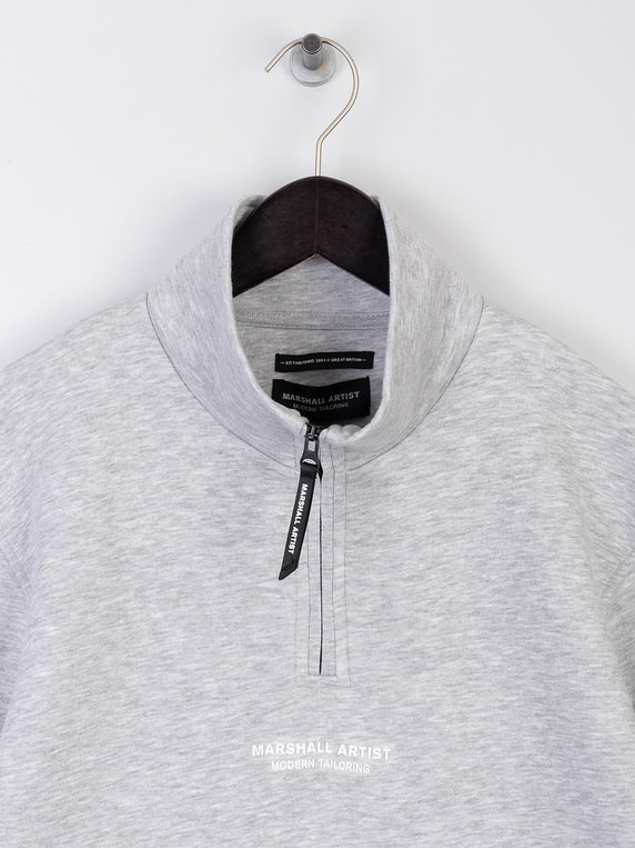 Marshall Artist Siren Half Zip Sweat Grey