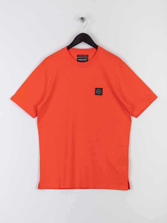 Marshall Artist Siren Short Sleeve T-Shirt Rust