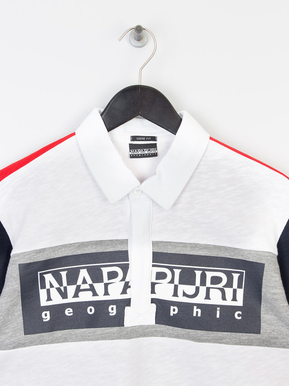 Napapijiri Emei LS Polo Shirt Multicolour
