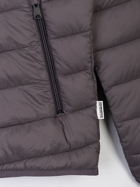 Napapijri Aerons Hooded Jacket Dark Grey