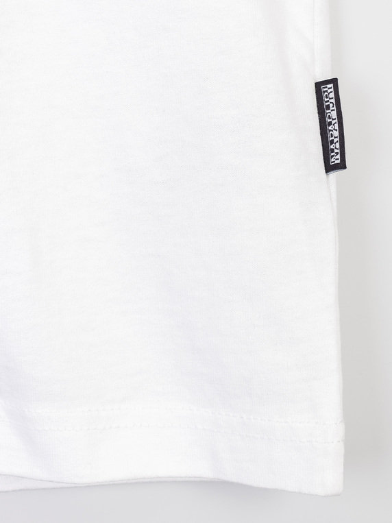 Napapijri S-Inari Short Sleeve T-Shirt White