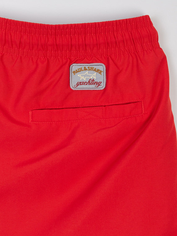Paul & Shark E20P5041 Swim Shorts Red