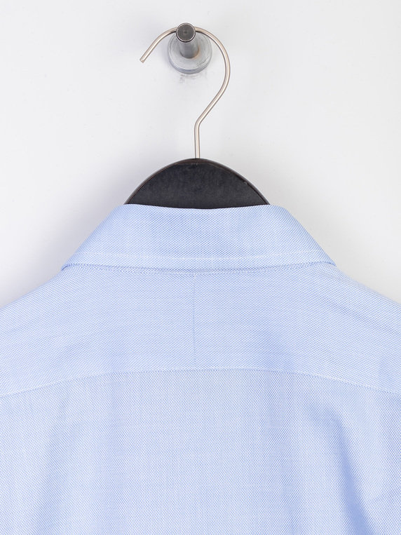 Polo Ralph Lauren CF Texture Long Sleeve Shirt Blue