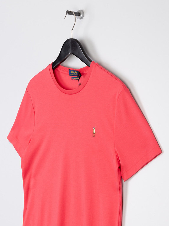 Polo Ralph Lauren Pima Short Sleeve T-Shirt Coral