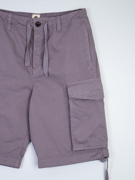 Pretty Green Connor Cargo Shorts Grey