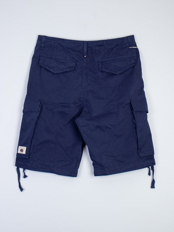 Pretty Green Connor Cargo Shorts Navy
