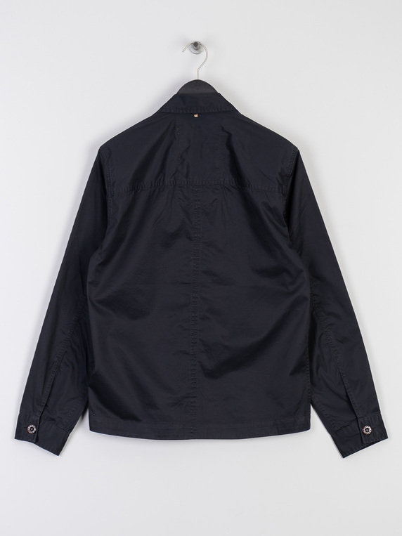 Pretty Green Connor Overshirt Black