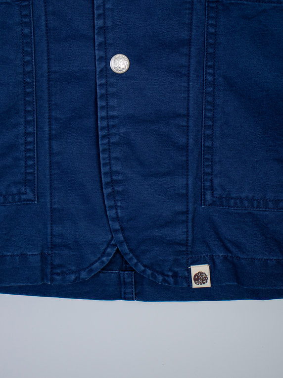 Pretty Green Creed Overshirt Jacket Navy