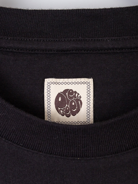 Pretty Green Engineered Stripe T-Shirt Black