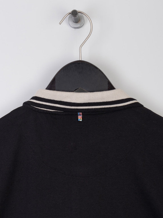 Pretty Green Joey Polo Black