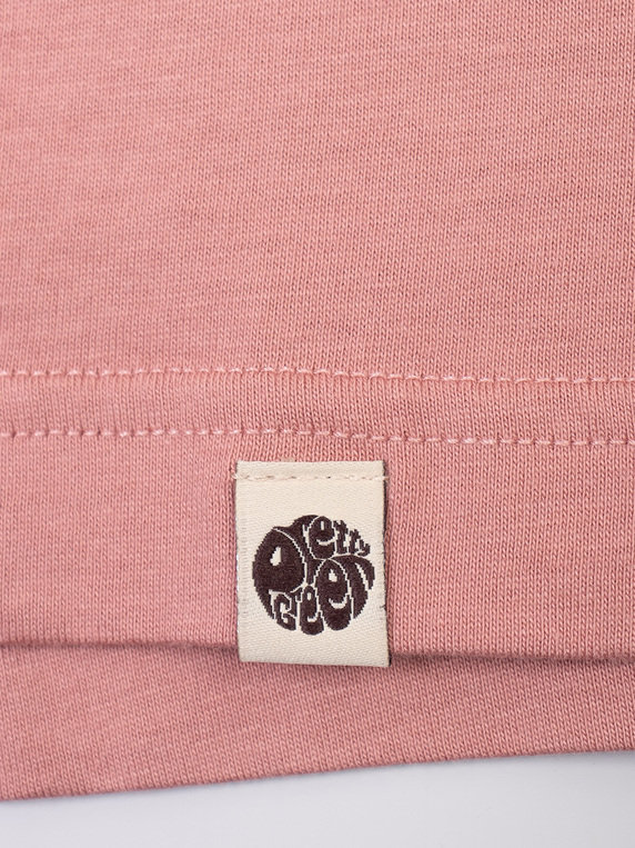 Pretty Green Like-minded Print T-Shirt Pink