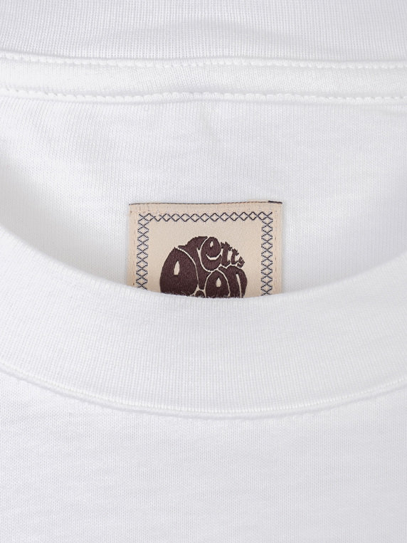 Pretty Green Likeminded Tipped T-Shirt White