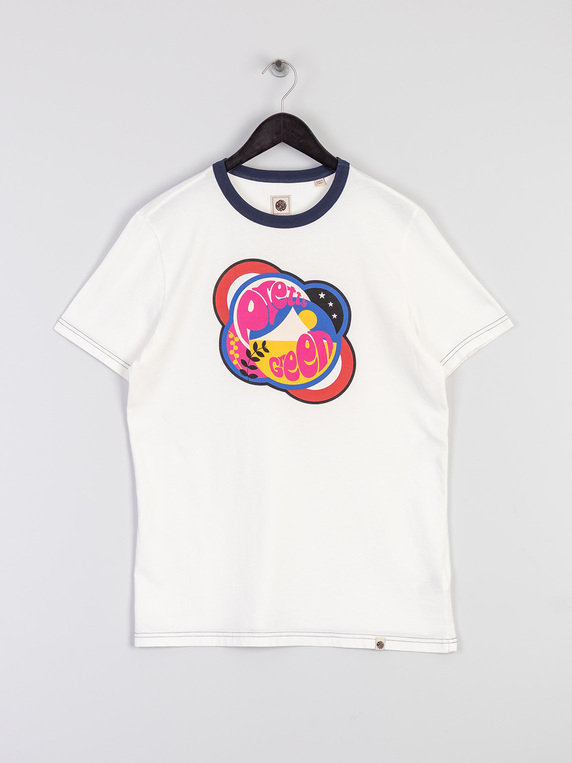 Pretty Green Logo T-Shirt White