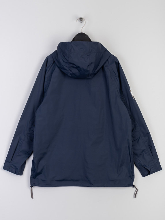 Pretty Green Seam Sealed Overhead Jacket Navy