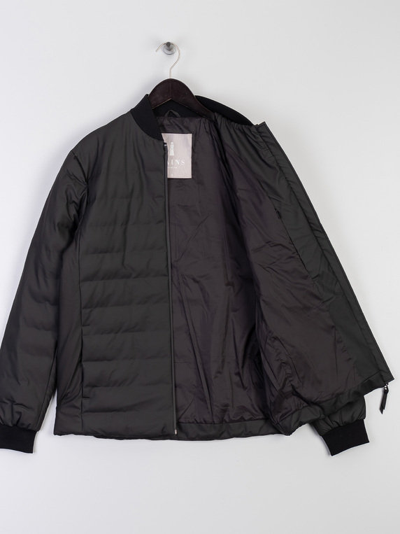 Rains 1521 Trekker Jacket Black